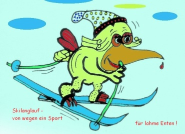Skilanglauf-Ente